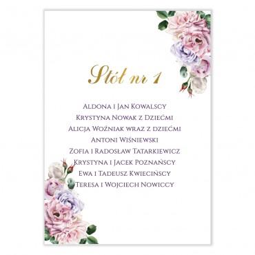 Plan stołów na wesele Akwarele 02
