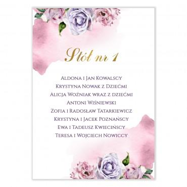 Plan stołów na wesele Akwarele 03