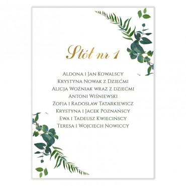 Plan stołów na wesele Eukaliptus 02