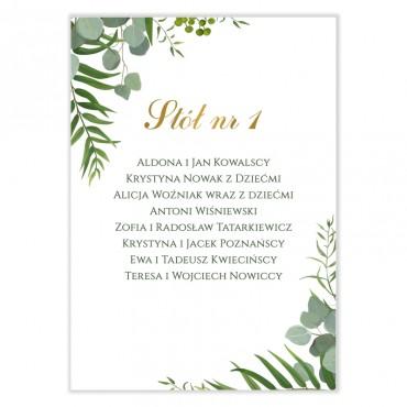 Plan stołów na wesele Eukaliptus 04