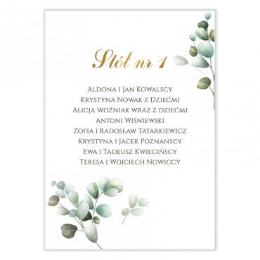 Plan stołów na wesele Eukaliptus 06