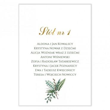 Plan stołów na wesele Eukaliptus 07