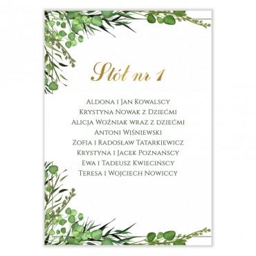 Plan stołów na wesele Eukaliptus 09