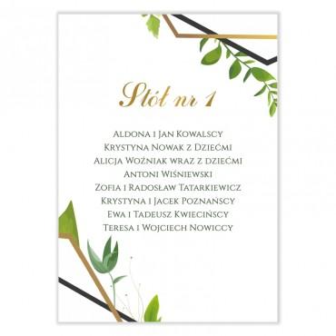 Plan stołów na wesele Eukaliptus 10
