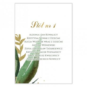 Plan stołów na wesele Eukaliptus 12