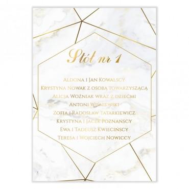 Plan stołów na wesele Marmur i Złoto 04