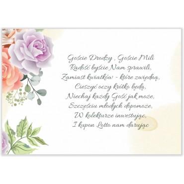 Bileciki do Zaproszeń Pastelowe 05