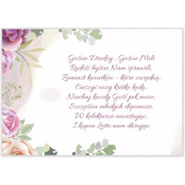 Bileciki do Zaproszeń Pastelowe 06