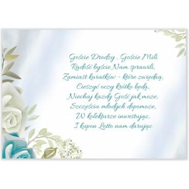 Bileciki do Zaproszeń Pastelowe 09