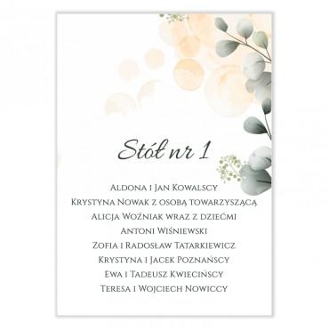 Plan stołów na wesele Pastelowe 03
