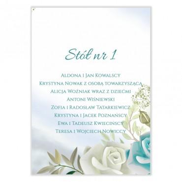 Plan stołów na wesele Pastelowe 09