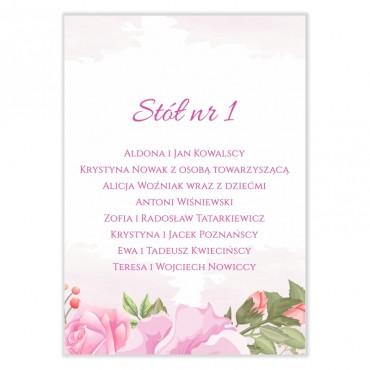 Plan stołów na wesele Pastelowe 10