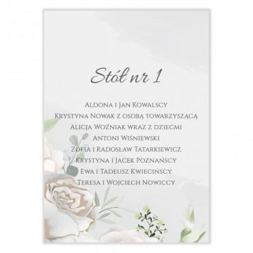 Plan stołów na wesele Pastelowe 12