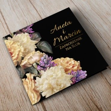 Zaproszenia Ślubne Floral 01A