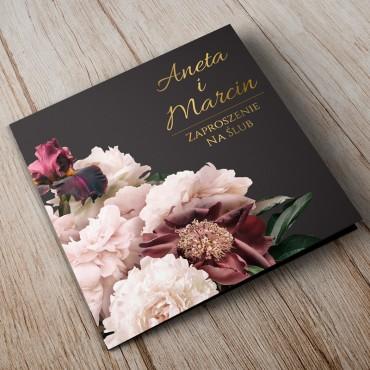 Zaproszenia Ślubne Floral 02A