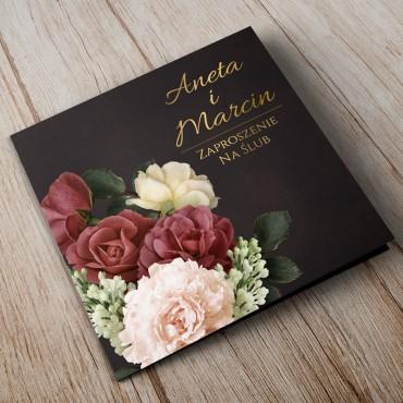 Zaproszenia Ślubne Floral 06A