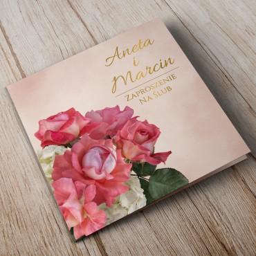 Zaproszenia Ślubne Floral 09A