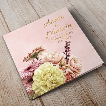 Zaproszenia Ślubne Floral 10A
