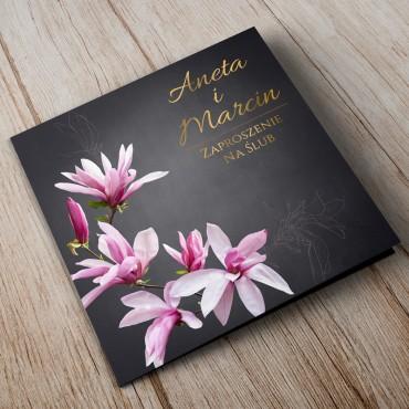 Zaproszenia Ślubne Floral 12A