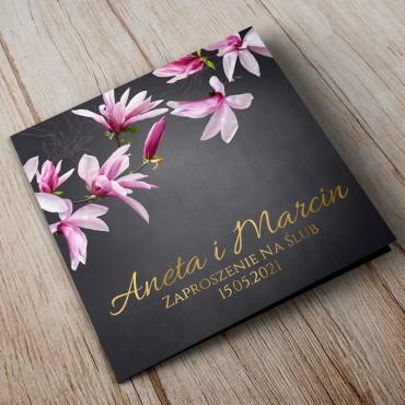 Zaproszenia Ślubne Floral 12B