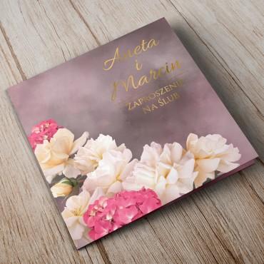 Zaproszenia Ślubne Floral 13A