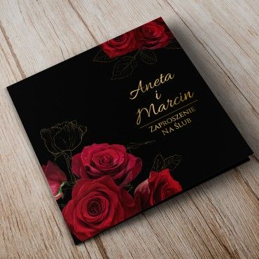 Zaproszenia Ślubne Floral 14A
