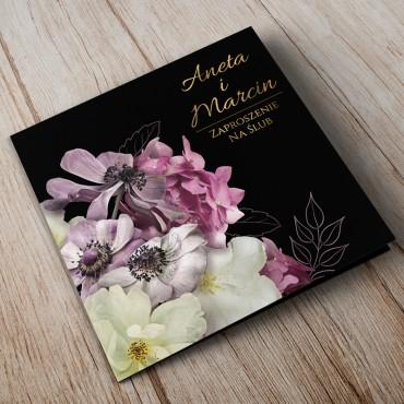 Zaproszenia Ślubne Floral 15A
