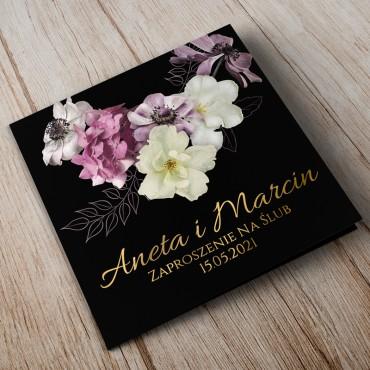 Zaproszenia Ślubne Floral 15B
