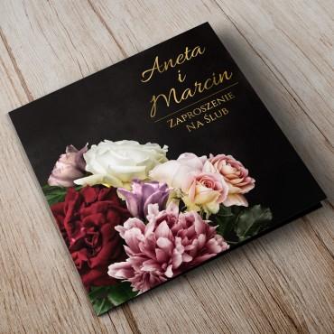 Zaproszenia Ślubne Floral 16A