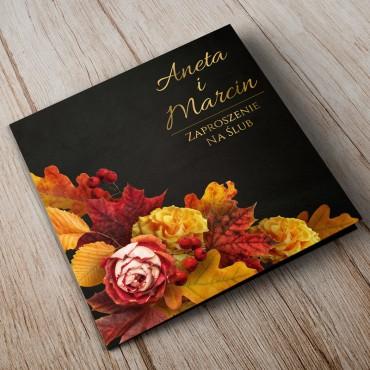Zaproszenia Ślubne Floral 17A