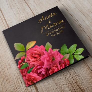 Zaproszenia Ślubne Floral 19A