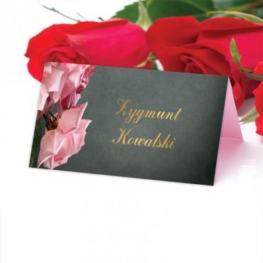 Winietki Ślubne na Stół Floral 04