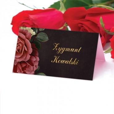 Winietki Ślubne na Stół Floral 06