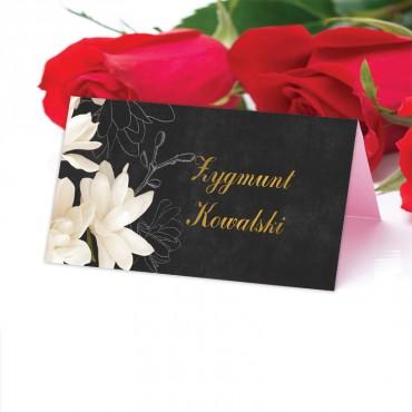 Winietki Ślubne na Stół Floral 11