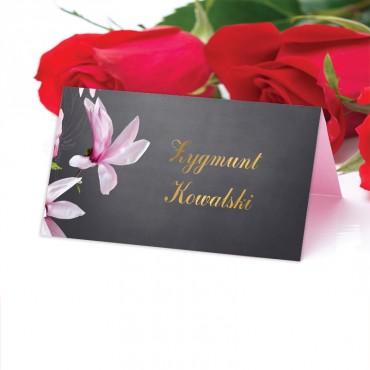 Winietki Ślubne na Stół Floral 12