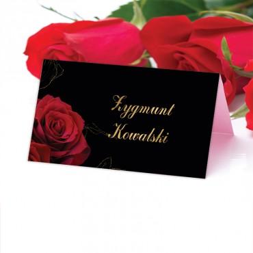 Winietki Ślubne na Stół Floral 14