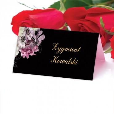 Winietki Ślubne na Stół Floral 15