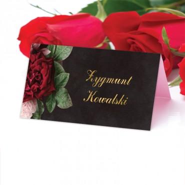Winietki Ślubne na Stół Floral 16