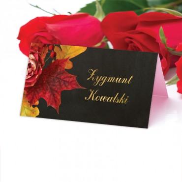 Winietki Ślubne na Stół Floral 17