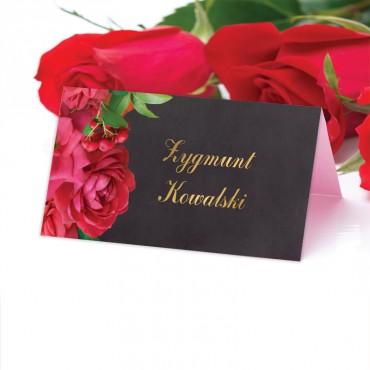 Winietki Ślubne na Stół Floral 19