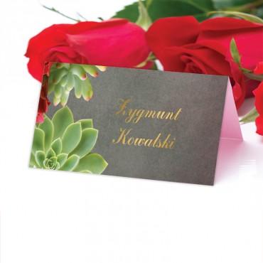 Winietki Ślubne na Stół Floral 20