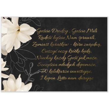 Bileciki do Zaproszeń Floral 11