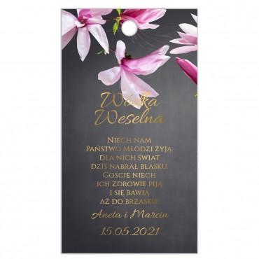 Zawieszki na Wódkę Weselną Floral 12