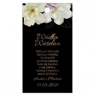 Zawieszki na Wódkę Weselną Floral 15