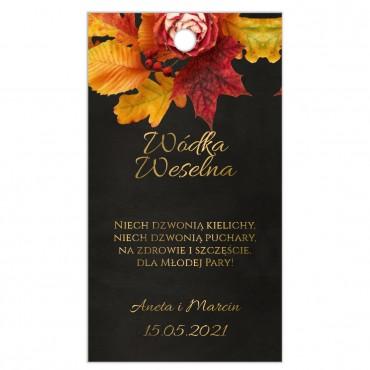 Zawieszki na Wódkę Weselną Floral 17