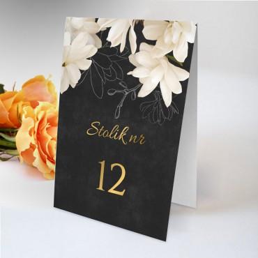 Numery stolików na wesele Floral 11