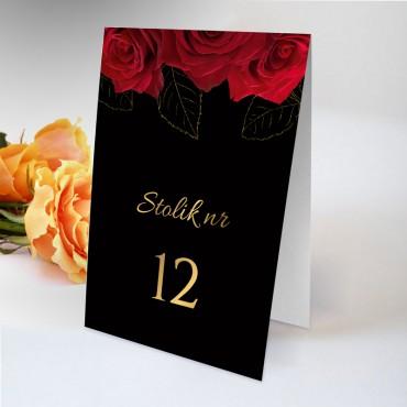 Numery stolików na wesele Floral 14
