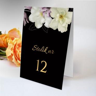 Numery stolików na wesele Floral 15