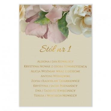 Plan stołów na wesele Floral 03