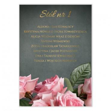 Plan stołów na wesele Floral 04